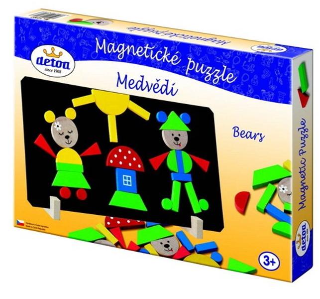 Magnetické puzzle - klauni
